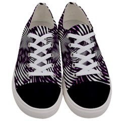 Background Texture Pattern Women s Low Top Canvas Sneakers