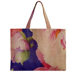 Fabric Textile Abstract Pattern Mini Tote Bag