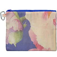 Fabric Textile Abstract Pattern Canvas Cosmetic Bag (xxxl)