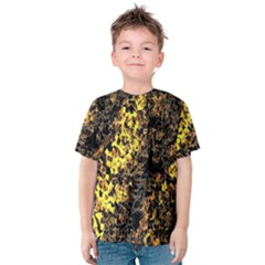 The Background Wallpaper Gold Kids  Cotton Tee