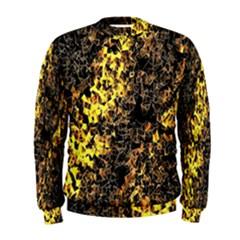 The Background Wallpaper Gold Men s Sweatshirt