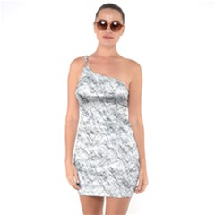 Pattern Background Old Wall One Soulder Bodycon Dress
