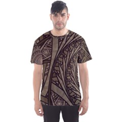 Abstract Pattern Graphics Men s Sports Mesh Tee