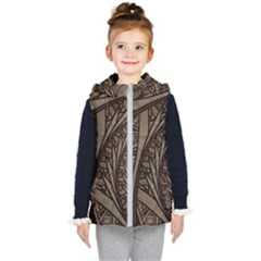 Abstract Pattern Graphics Kid s Puffer Vest