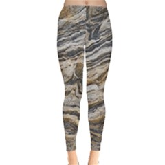 Texture Marble Abstract Pattern Leggings