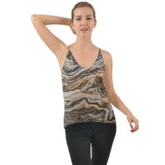 Texture Marble Abstract Pattern Cami
