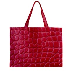 Textile Texture Spotted Fabric Mini Tote Bag