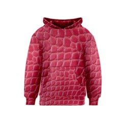 Textile Texture Spotted Fabric Kids  Pullover Hoodie