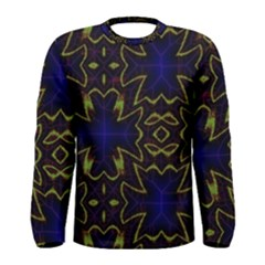 Background Texture Pattern Men s Long Sleeve Tee