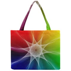 Abstract Star Pattern Structure Mini Tote Bag