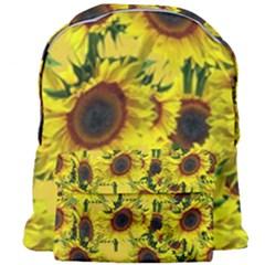 Sun Flower Pattern Background Giant Full Print Backpack
