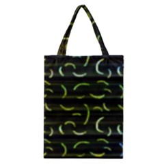 Abstract Dark Blur Texture Classic Tote Bag