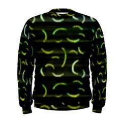 Abstract Dark Blur Texture Men s Sweatshirt