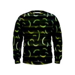 Abstract Dark Blur Texture Kids  Sweatshirt