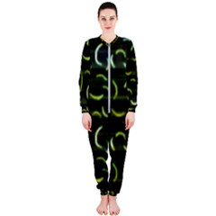 Abstract Dark Blur Texture Onepiece Jumpsuit (ladies)