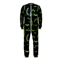 Abstract Dark Blur Texture Onepiece Jumpsuit (kids)