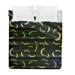 Abstract Dark Blur Texture Duvet Cover Double Side (full/ Double Size)