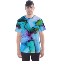 Abstract Painting Art Men s Sports Mesh Tee