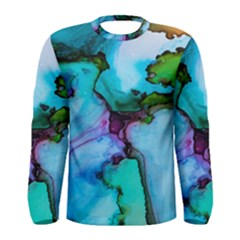 Abstract Painting Art Men s Long Sleeve Tee