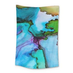 Abstract Painting Art Small Tapestry