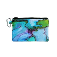 Abstract Painting Art Canvas Cosmetic Bag (small)