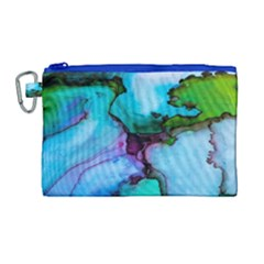 Abstract Painting Art Canvas Cosmetic Bag (large)