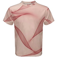 Background Light Glow Abstract Art Men s Cotton Tee