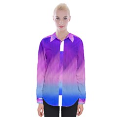 Background Art Abstract Watercolor Womens Long Sleeve Shirt