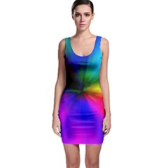 Creativity Abstract Alive Bodycon Dress