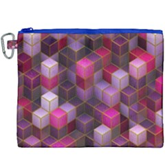 Cube Surface Texture Background Canvas Cosmetic Bag (xxxl)