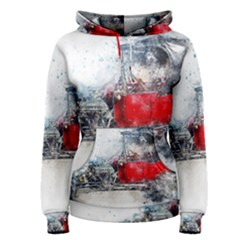 Car Old Car Art Abstract Women s Pullover Hoodie