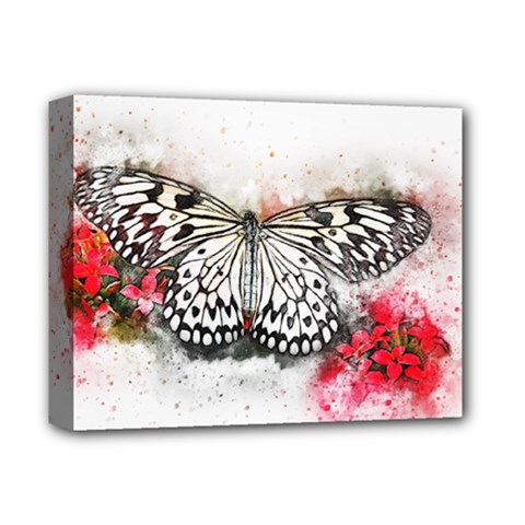 Butterfly Animal Insect Art Deluxe Canvas 14  X 11