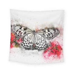 Butterfly Animal Insect Art Square Tapestry (small)