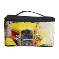 Car Old Art Abstract Cosmetic Storage Case