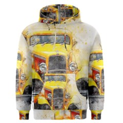 Car Old Art Abstract Men s Pullover Hoodie