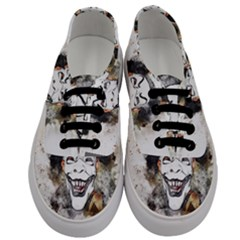 Mask Party Art Abstract Watercolor Men s Classic Low Top Sneakers