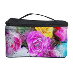 Flowers Bouquet Art Abstract Cosmetic Storage Case