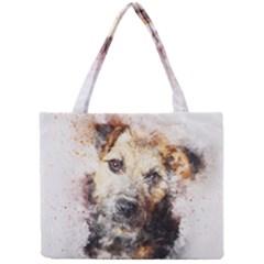 Dog Animal Pet Art Abstract Mini Tote Bag