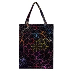 Background Grid Art Abstract Classic Tote Bag