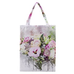 Flowers Bouquet Art Abstract Classic Tote Bag