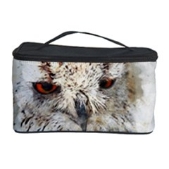 Bird Owl Animal Art Abstract Cosmetic Storage Case