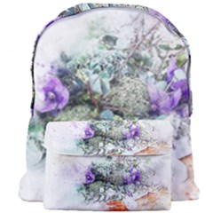 Flowers Bouquet Art Abstract Giant Full Print Backpack