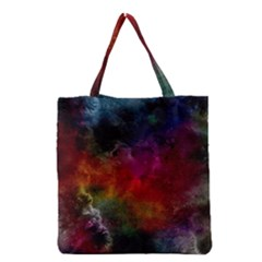 Abstract Picture Pattern Galaxy Grocery Tote Bag