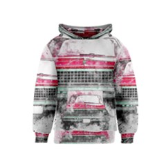 Car Old Car Art Abstract Kids  Pullover Hoodie