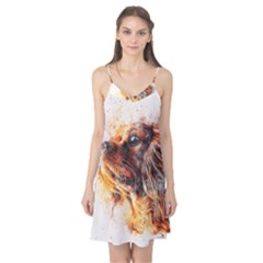 Dog Animal Pet Art Abstract Camis Nightgown