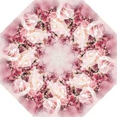 Flowers Bouquet Art Abstract Golf Umbrellas