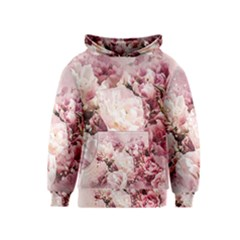 Flowers Bouquet Art Abstract Kids  Pullover Hoodie