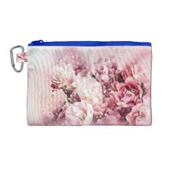 Flowers Bouquet Art Abstract Canvas Cosmetic Bag (large)