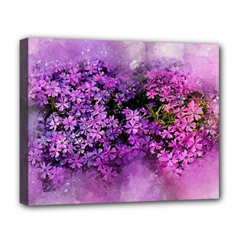 Flowers Spring Art Abstract Nature Deluxe Canvas 20  X 16
