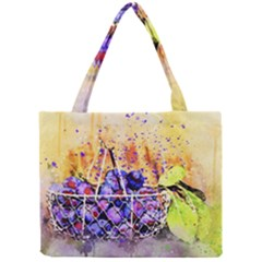 Fruit Plums Art Abstract Nature Mini Tote Bag